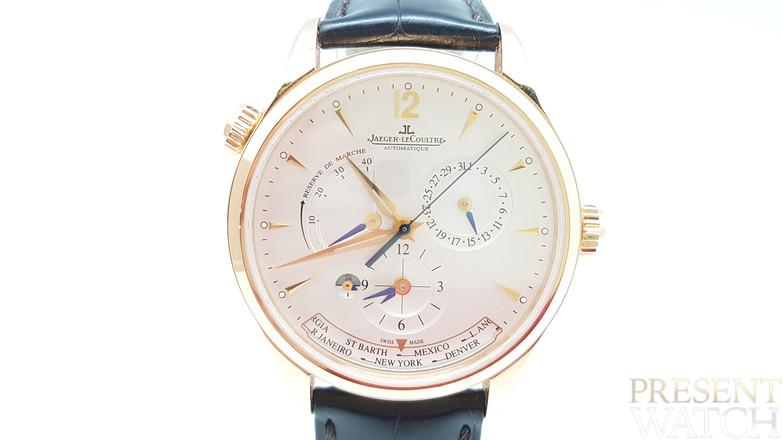Jaeger-LeCoultre Master Control Geographic Rose Gold 18Kt 176.2.29.S