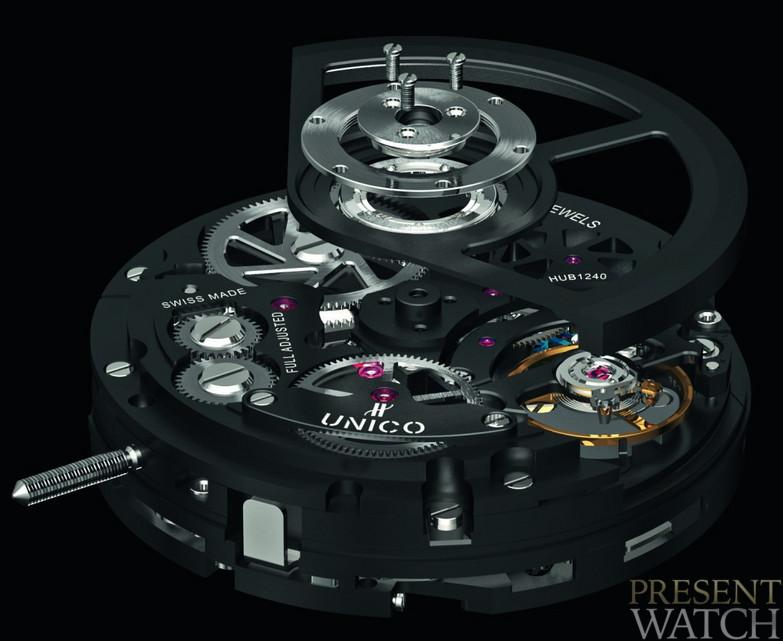 HUB 1241 UNICO MOVEMENT