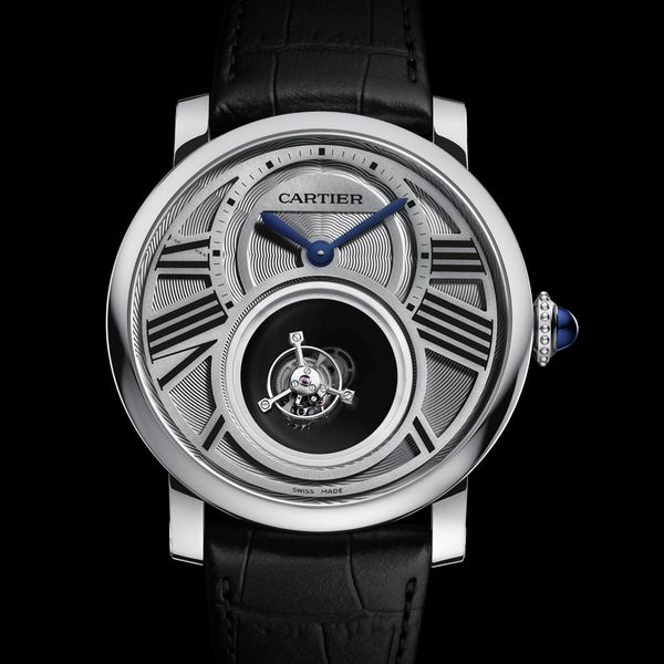 Rotonde de Cartier Double Mystery Tourbillon